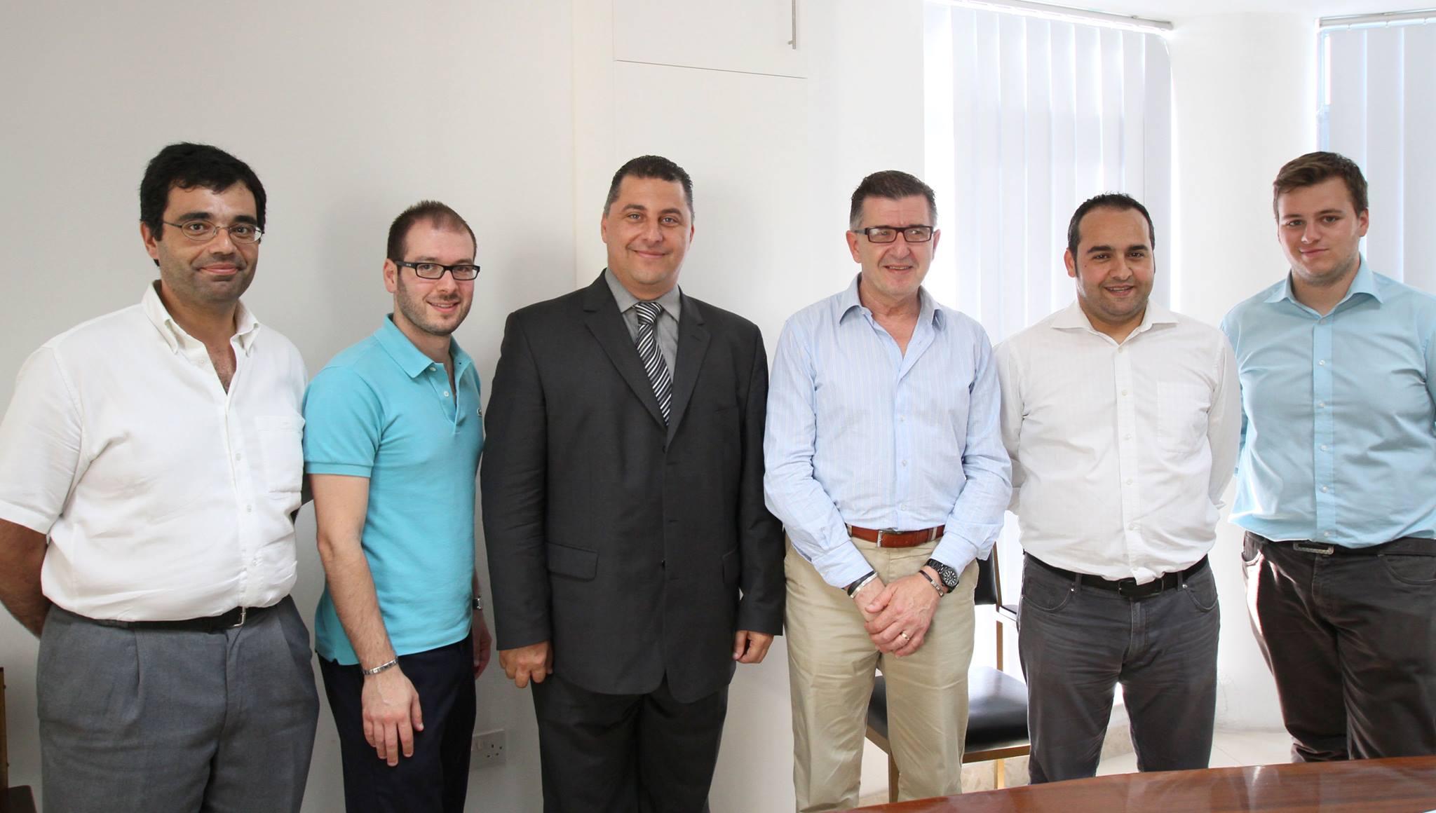 Robert Cutajar meeting