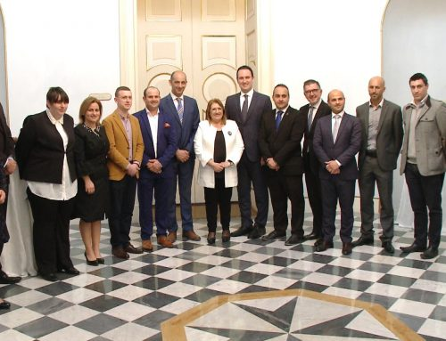 SportMalta Awards Winners meet H.E. the President of Malta