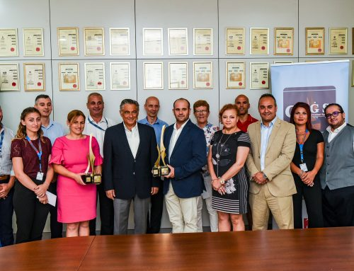 Maltco Lotteries presented financial support to this year's SportMalta AwardsWinners.