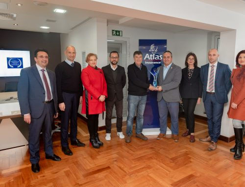 Atlas Insurance teams up with the Malta Sports Journalists Association to award young sports achievers