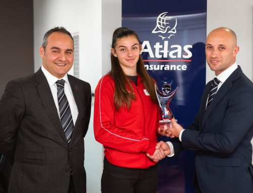 Rachela Pace wins the January 2020 Atlas Insurance Youth Athlete of the month award