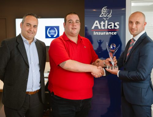 Dejan Grech wins February 'Atlas Youth Athlete of the month' award