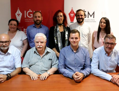 New Executive Council for the Institute of Maltese Journalists
