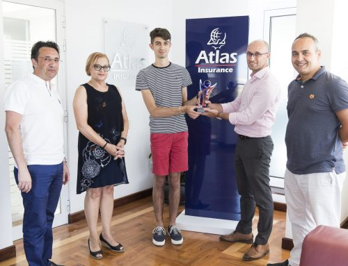 Matthew Magro wins the June 'Atlas Youth Athlete of the month' award