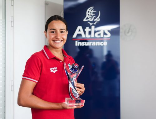 Swimmer Sasha Gatt wins August Atlas Youth Athlete of the Month Award